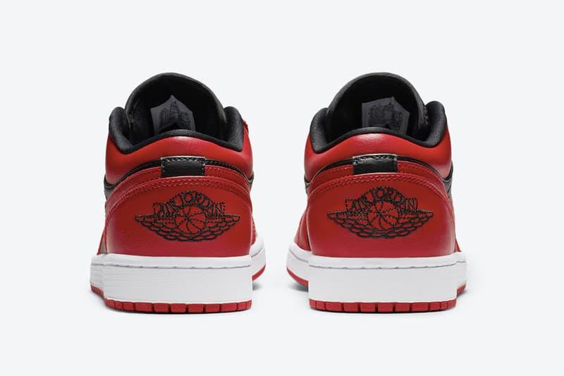 Air Jordan 1 Low「Varsity Red」官方圖輯正式發佈