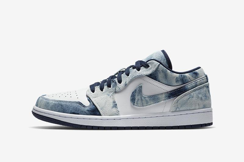 Air Jordan 1 Low 全新「Washed Denim」配色圖輯釋出