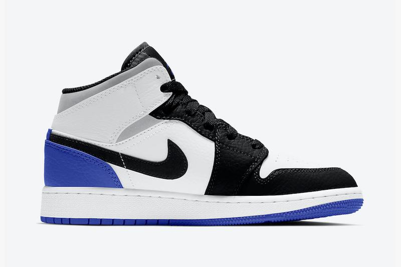 "Air Jordan 1 Mid 即將推出類近 ""fragment design"" 配色鞋款"