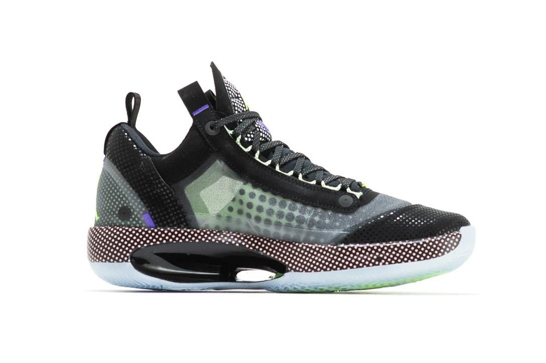 Jordan Brand 推出 Air Jordan 34 Low 全新配色「Vapor Green」