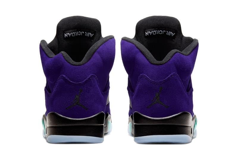 Air Jordan 5 最新配色「Alternate Grape」官方圖輯、發售情報正式公開