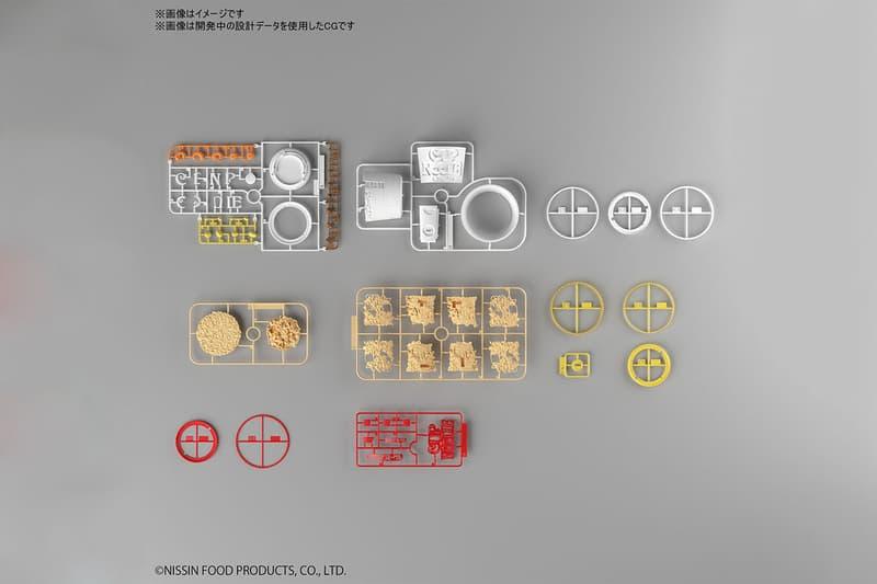Bandai Spirits Hobby 事業部推出 1:1 比例日清合味道杯麵組裝模型