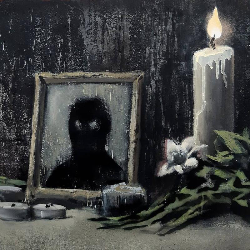 Banksy 釋出最新 #BlackLivesMatter 主題創作為黑人族群發聲