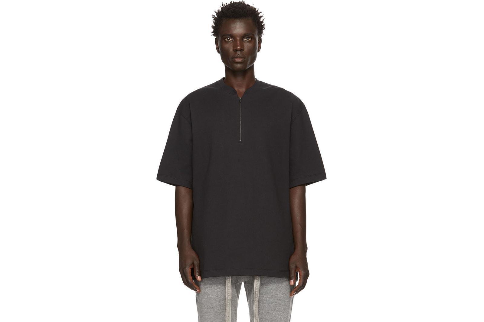 本日嚴選 8 件黑色 T 恤入手推介
