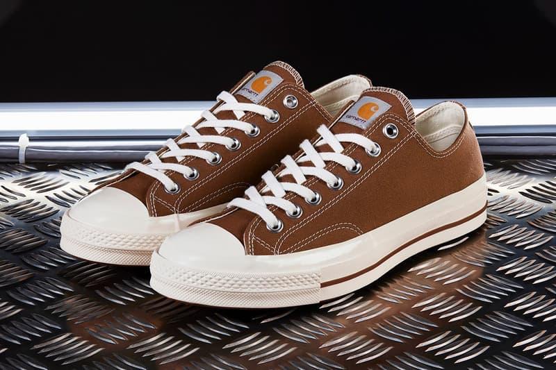 人氣回歸!Carhartt WIP x Converse 聯名鞋款 Chuck 70 重新補貨發售