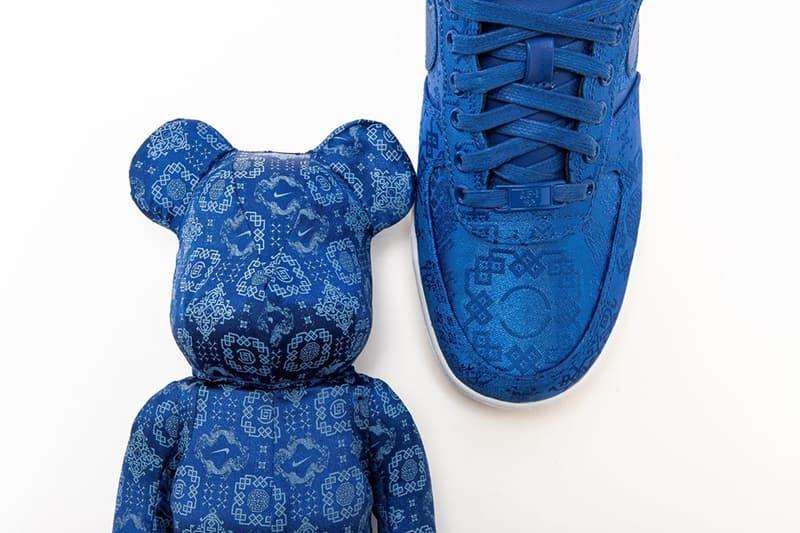 CLOT x Nike x Medicom Toy 三方聯乘 BE@RBRICK 中港台發售情報