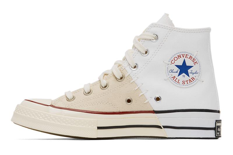 Converse 推出全新拼接解構 White & Off-White Reconstructed Chuck 70