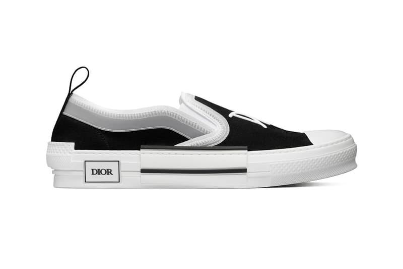 Dior 推出全新 Shawn Stussy 手寫字體 B23 Slip-On 懶人鞋