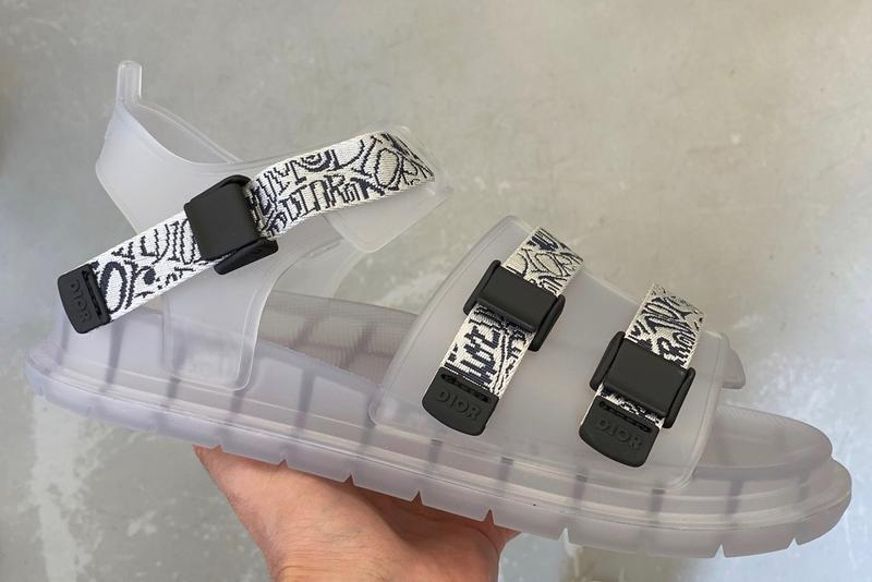 Dior Men 鞋款總監 Thibo Denis 親自曝光全新別注涼鞋 Jelly Sandal