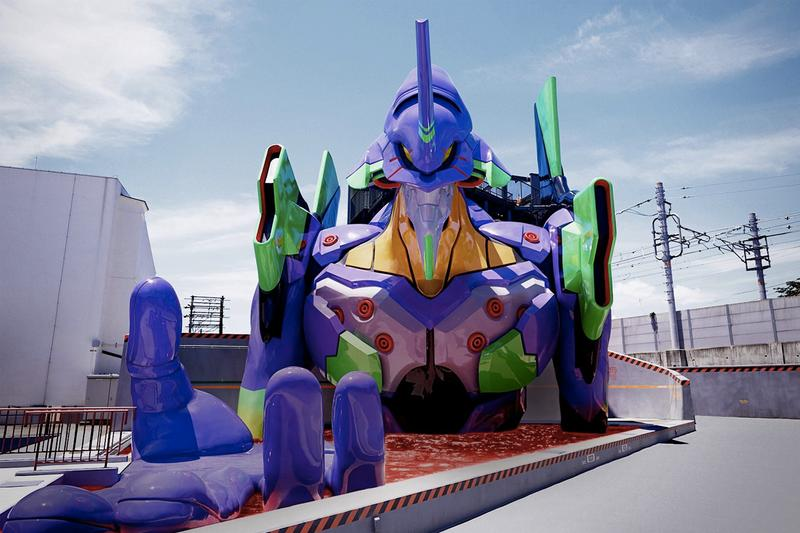 新世紀福音戰士 Evangelion 京都基地之「初號機」遊樂設施率先曝光