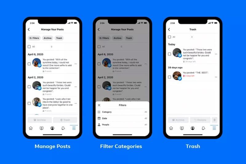 Facebook 全新功能「Manage Activity」將使用戶更簡單刪除老舊貼文