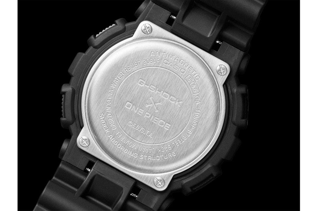 G-Shock x《One Piece》及《Dragon Ball Z》聯乘 GA-110 腕錶發佈