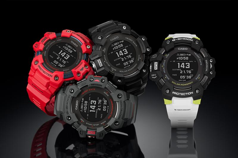 G-Shock 首款心率偵測腕錶 GBD-H1000 系列台灣發售情報
