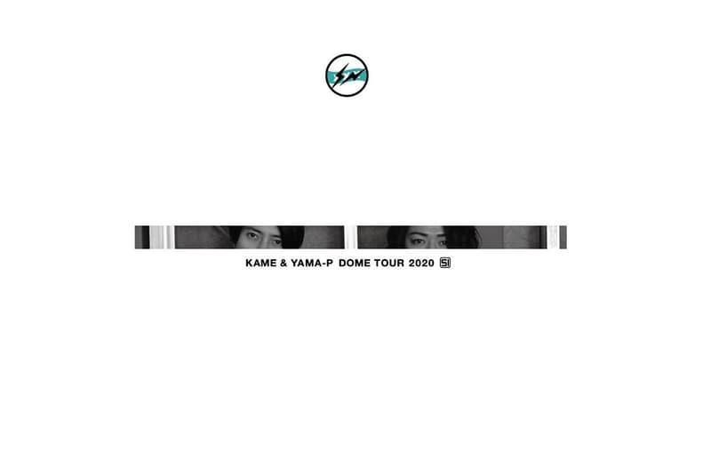 fragment design 為亀梨和也與山下智久組合回歸演唱會 T-Shirt 設計公開