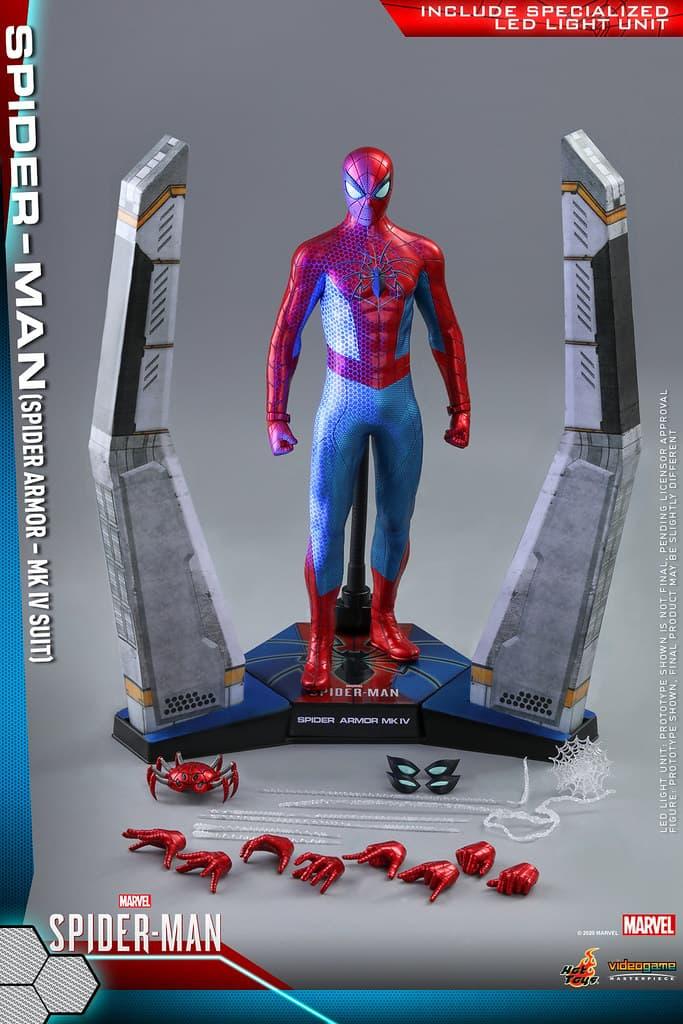 Hot Toys 推出全新 Spider-Man「Spider Armor MK IV Suit」1:6 比例珍藏人偶