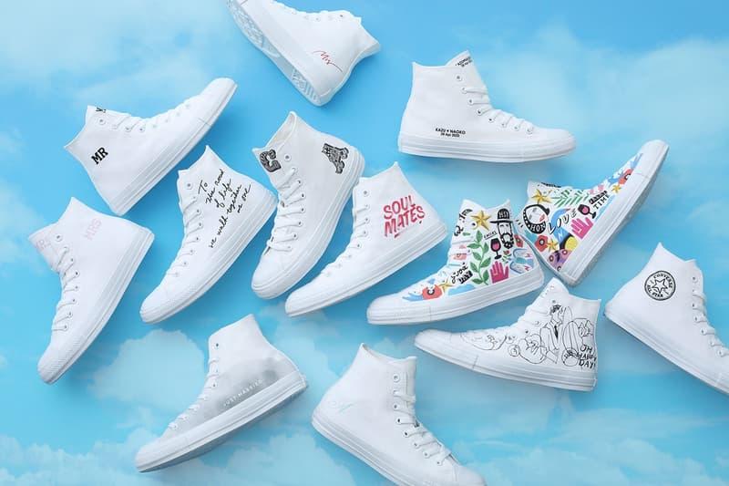 Converse Japan 為婚禮提供 All Star Hi 鞋款定製服務