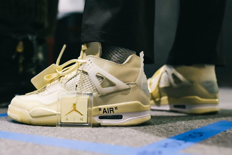 Virgil Abloh 未市售 Off-White™ x Air Jordan 4「 Sail」鞋款最終以約 18 萬美金售出(UPDATE)
