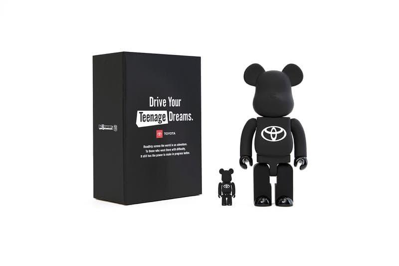 Toyota x Medicom Toy 聯名企劃正式發佈