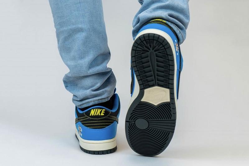 近賞 Instant Skateboards x Nike SB 全新聯乘 Dunk Low 上腳圖輯