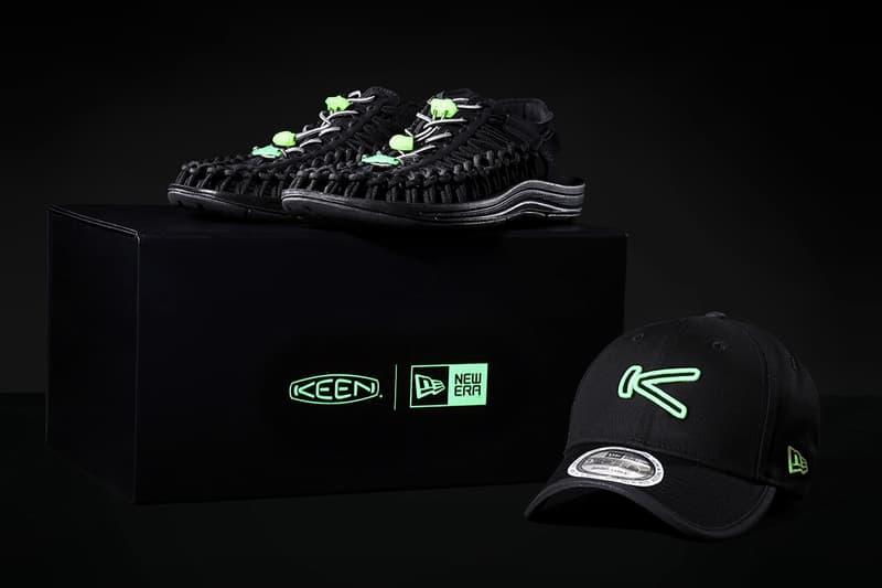 New Era x KEEN 聯手打造黑夜概念別注限量套裝