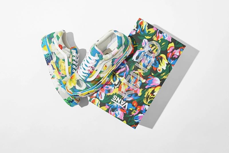 KENZO x Vans 推出別注「Floral」鞋款系列