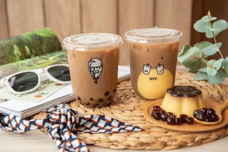 KFC 全新珍珠奶茶飲品登陸台灣販售