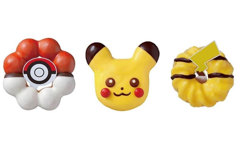 Mister Donut x Pokémon 聯乘限定甜甜圈正式登陸台灣