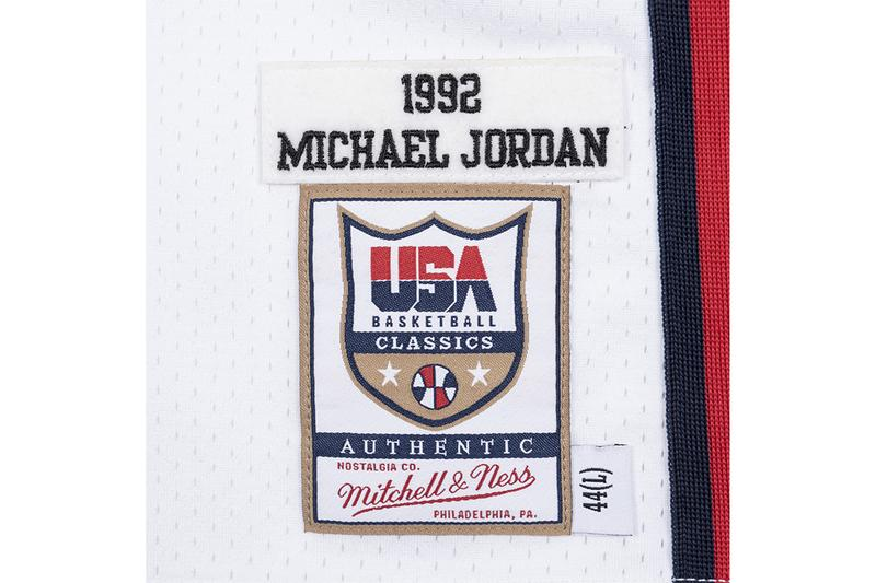 Mitchell & Ness 即將復刻 Michael Jordan 1992 年美國夢幻隊球衣