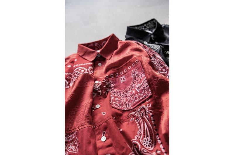 MIYAGIHIDETAKA 攜手 CLOT 打造全新 4 款經典絲綢別注系列