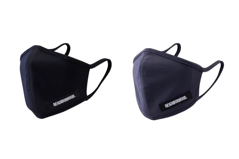 NEIGHBORHOOD 推出「GUARDIAN」抗菌用布口罩