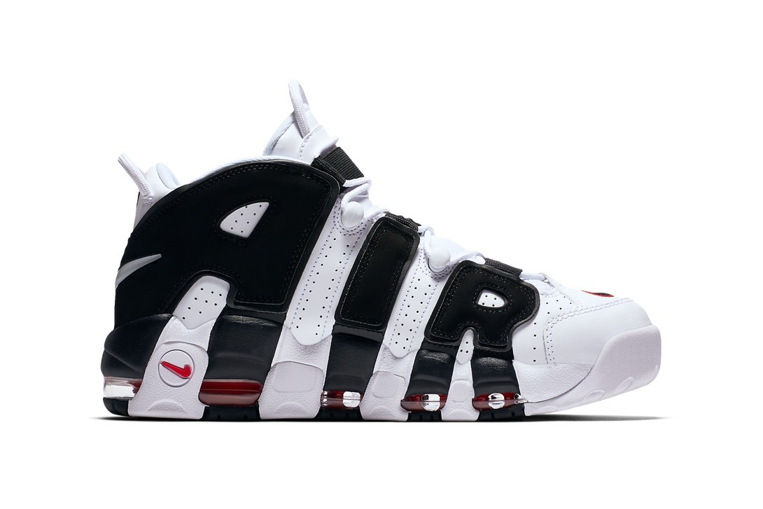 Nike Air More Uptempo 人氣配色「White/Black」即將回歸上架