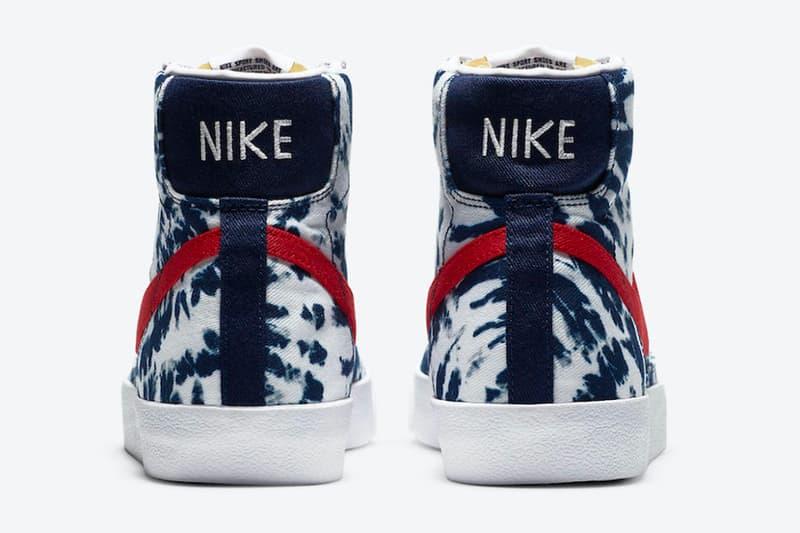 Nike Blazer Mid「Tie-Dye」配色即將登場