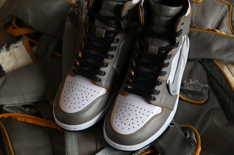 Ceeze 運用廢棄飛機座椅材料打造 Off-White™ x Air Jordan 1 定製鞋款