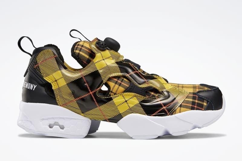 Opening Ceremony x Reebok 聯手打造別注格紋 Instapump Fury 鞋款