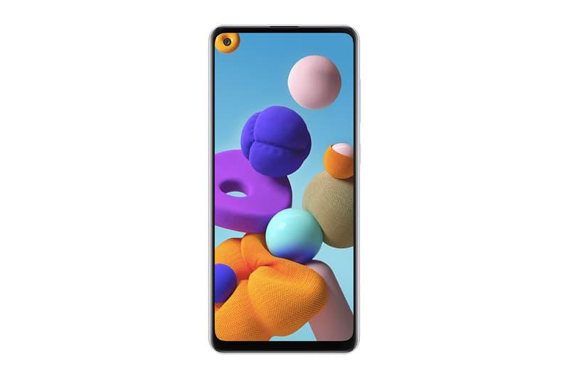 Samsung 推出 4 鏡頭入門手機 Galaxy A21s