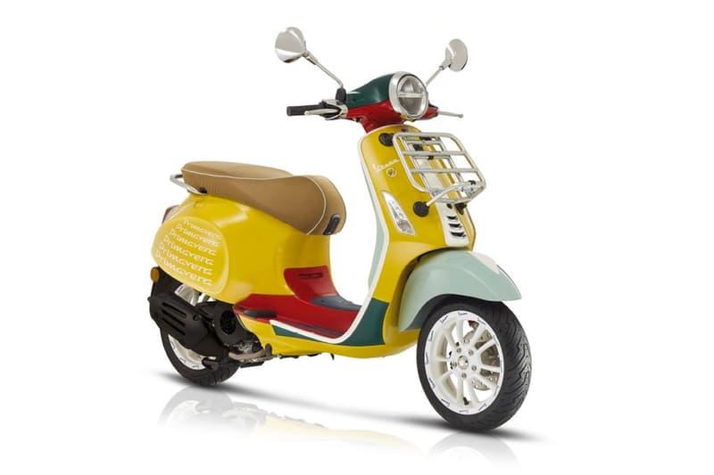 Sean Wotherspoon 攜手 Vespa 打造 Primavera 電單車