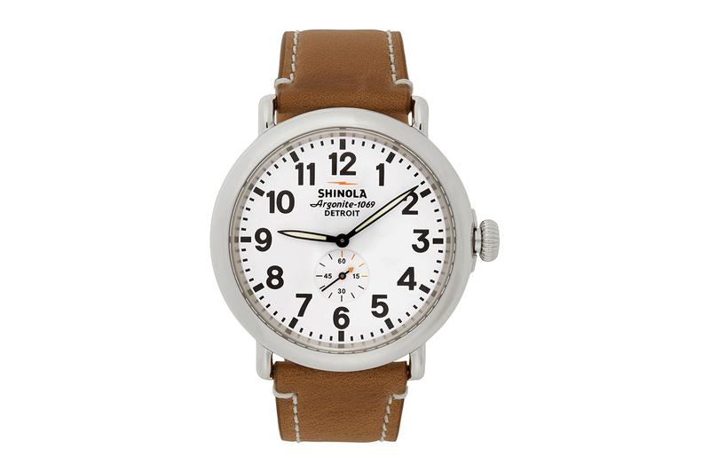 美製 Shinola「The Runwell」手錶帶來多種不同配色