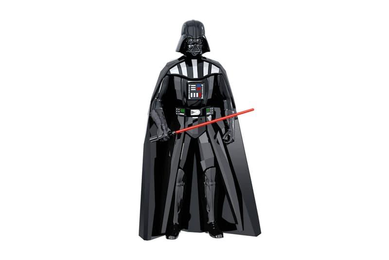 Swarovski 推出《Star Wars》別注水晶雕像系列