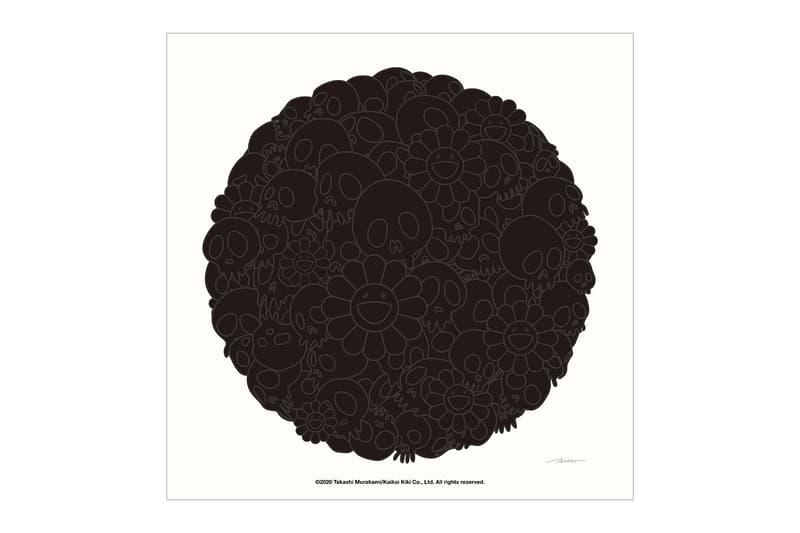 村上隆推出全新黑魂限量版慈善畫作系列