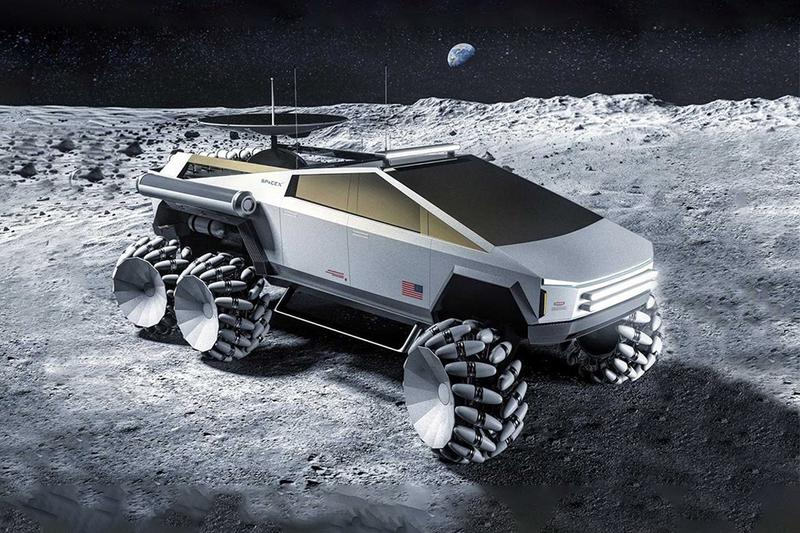 藝術家打造 Tesla Cybertruck 概念月球車