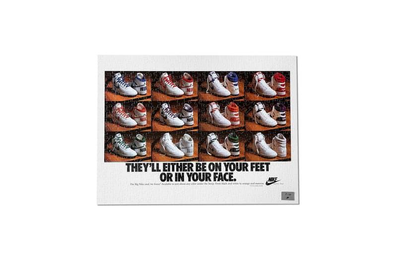Nike 推出鬼罕限量版復古廣告海報拼圖套裝