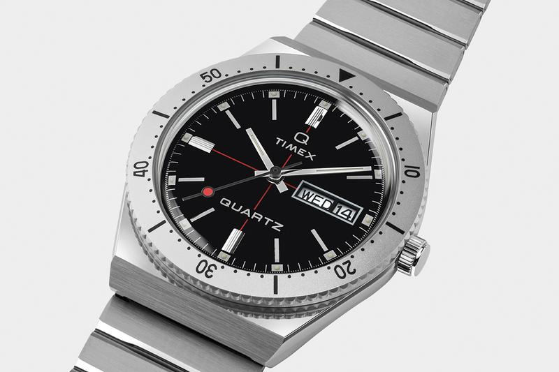 Todd Snyder 重塑經典 Q Timex 手錶款式
