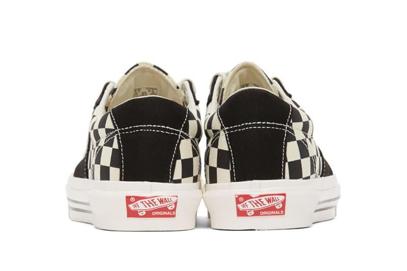 Vans 移植經典「Checkerboard」圖案到兩個經典鞋款