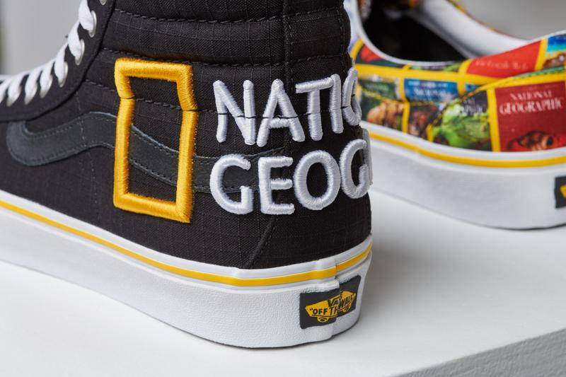Vans 與 National Geographic 聯乘推出探索故事鞋款系列