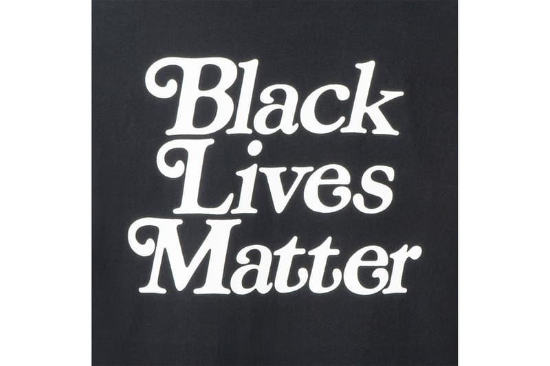 Verdy 打造最新 T-Shirt 設計為 #BlackLivesMatter 運動發聲