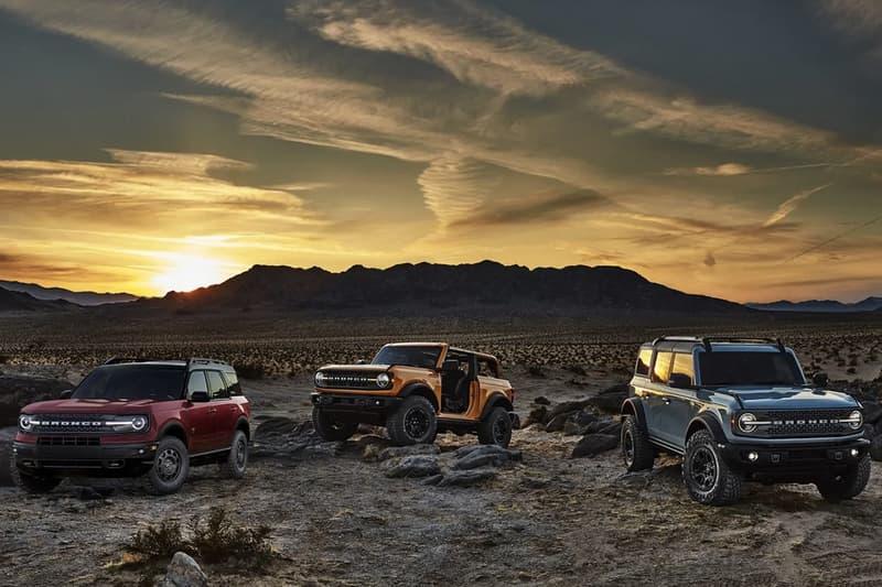 Ford 2021 年式越野車型 Bronco First Edition 發表首日極速售磬