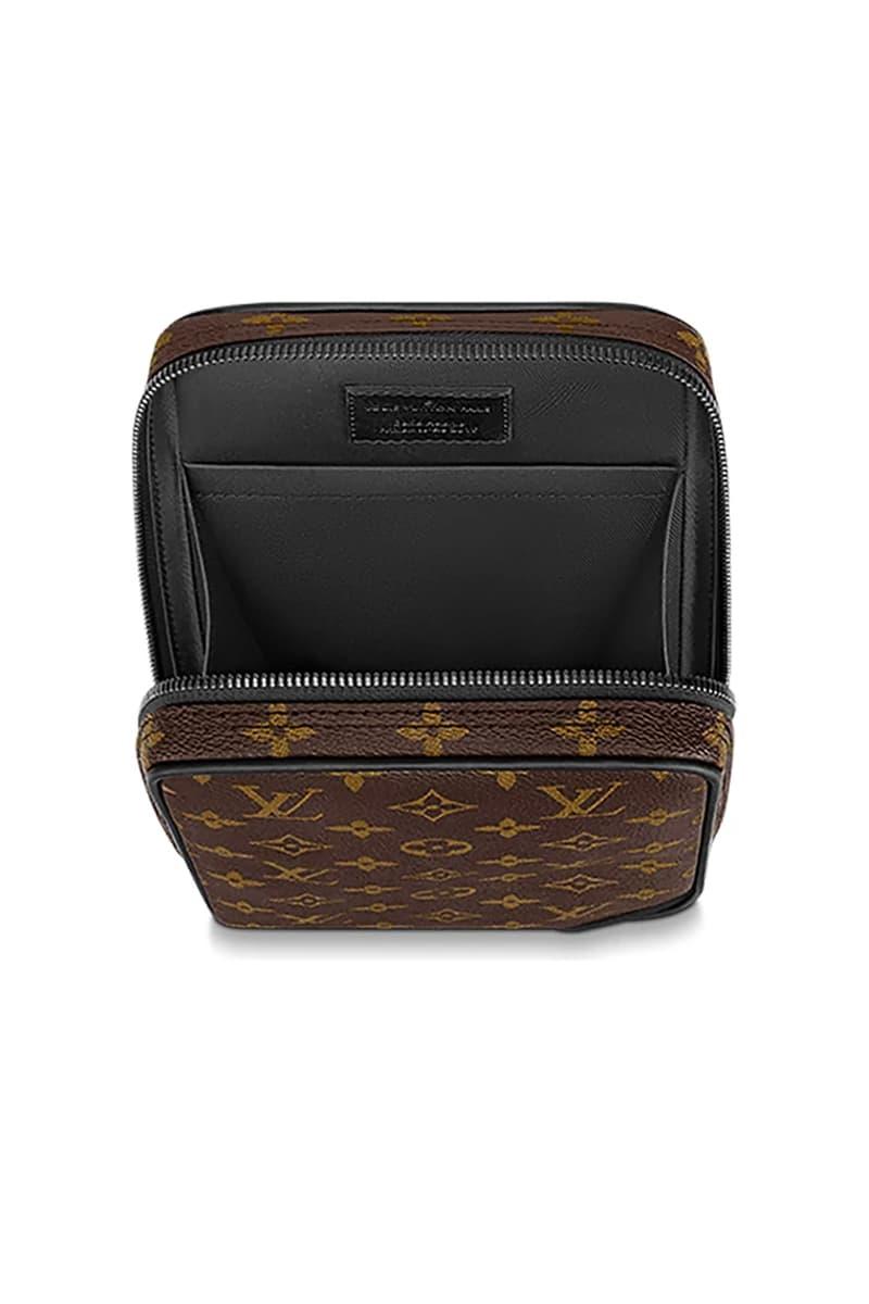 Louis Vuitton 推出全新機能感 Monogram 印花腰包