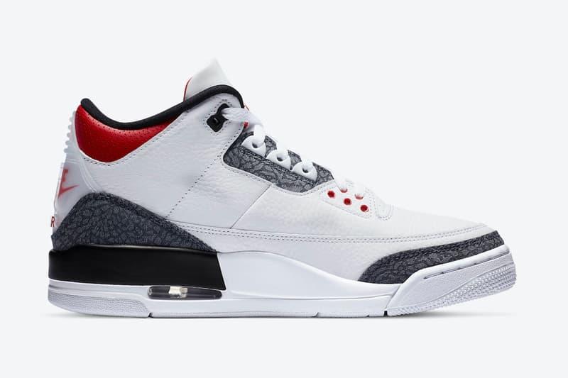 Air Jordan 3 SE Denim「Fire Red」官方圖輯公開