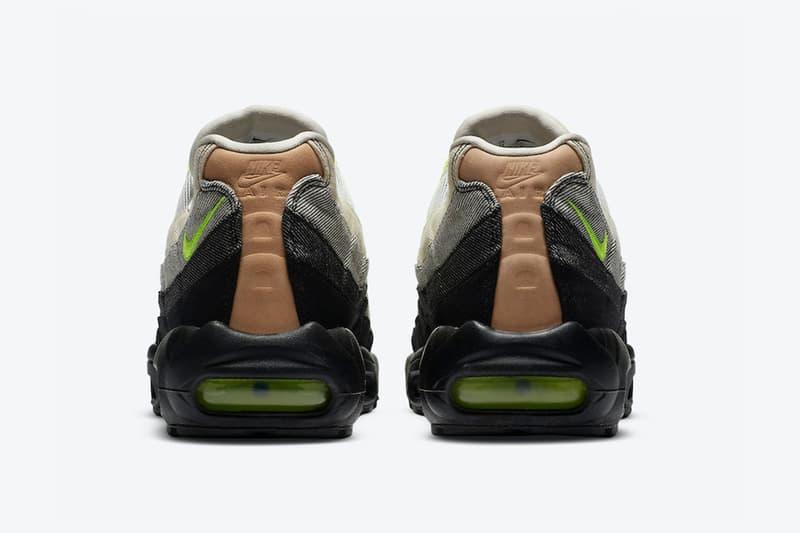 DENHAM x Nike 推出 OG 色概念別注版 Air Max 95 鞋款