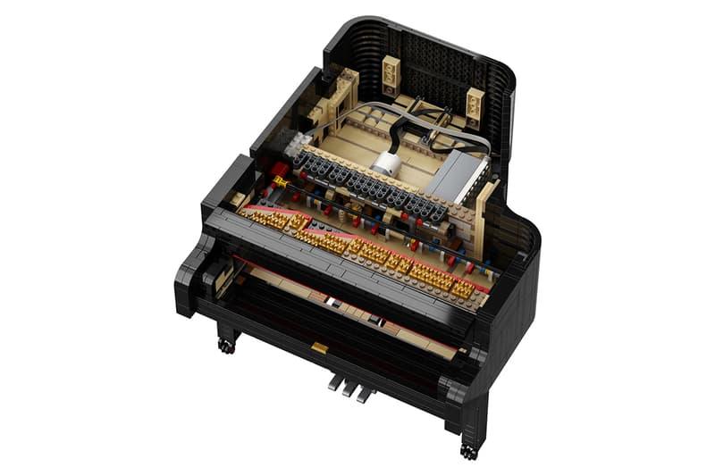 LEGO 推出可彈奏的 Ideas Grand Piano 演奏鋼琴